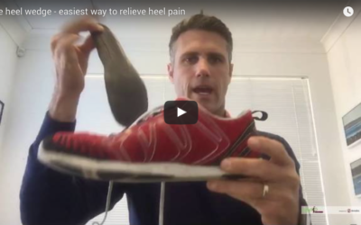 Heel pain – quick pain relief in this FREE video